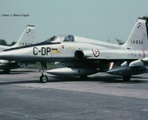 northrop f-5a-dp-c-14896 beauvechain-27-6-1970-j-a-engels