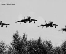 F-84F formation Eindhoven 4-8-1969 (HE)