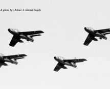 F-84F formation Volkel 19-6-1970 (HE)