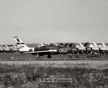 F-84F Thunderstreak , demo. BAF (CFK)