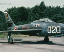 f-84f belg.lm fu020 instr.airframe beauvechain-27-6-1970-j-a-engels
