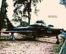 f-84f thunderstreak fu45 belg.lm -savigny-26-8-1990-j-a-engels