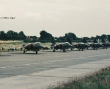 f-104 belg.lm  -flight-line-beauvechain-27-6-1970-j-a-engels