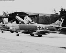 Fiat G-91T , Luftwaffe , 1966 (HE)