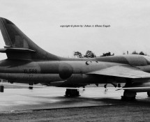 hunter t.7-xl568 laarbruch-29-9-1973-j-a-engels