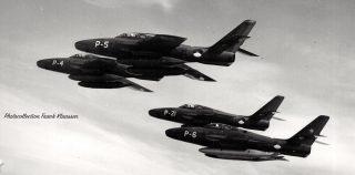 RF-84Fs of the Royal Netherlands Air Force (KLu)