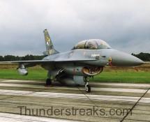 J-265 F-16B KLu (FK)
