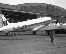 C-47 trainer with Starfighter-nose , BAF (HE)