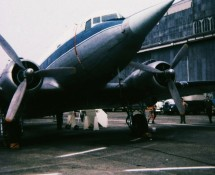 C-47 trainer with Starfighter-nose , BAF (CHE)