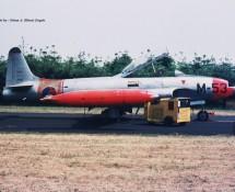 lockheed t-33 k.lu. m53-volkel-6-1970-j-a-engels