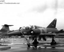 Mirage 5BD , BAF (FK)