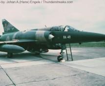 mirage-5ba ba-48-belg-lm-deelen-11-6-1983-j-a-engels
