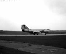1968 FX97 Starfighter BAF in silver c/s , Eindhoven 19-3-1968 (FK)