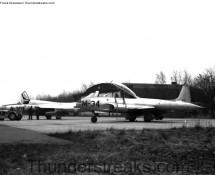 Hunter T-7 on the base-flight (FK)