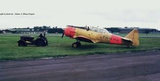 (warbird) north-american-t-6-harvard-ph-kma-ex-klu-b-56-gry-26-8-1972-j-a-engels