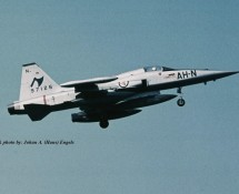 F-5A R.Norwegian AF . 1971 (HE)