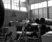 p-138 gesloopt in hangar eindhoven-8-9-1967-j-a-engels