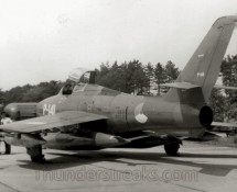P-141 (52-7197) at a Woensdrecht Open Day (Copyright FK)