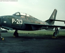 P-213 was a decoy at Leeuwarden in 1973 (FK)