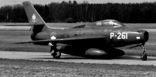 THUNDERSTREAKS of the KLu/Netherlands Air Force (in active service)