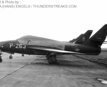 f-84f k.lu-p-263 eindhoven-8-9-1967-j-a-engels