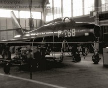 P-268 in the maintenance hangar (FK)