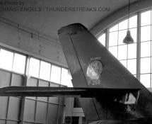 f-84f k.lu-p-268-staart-315-sq-in-td-hangar-eindhoven-8-9-1967-j-a-engels