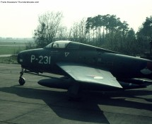 P-231 was after being w.f.u. in 1970, used as a decoy at Eindhoven (FK)