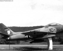 Sabre JC-102 was a gate-guard at Pferdsfeld in 1970