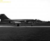 1969 Starfighter 26+32 Luftwaffe , Eindhoven 6-8-1969