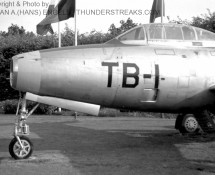 thunderjet-f-84g-tb-1 neus-poortwachter-eindhoven-8-9-1967-j-a-engels