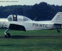 (warbird)Fokker S-11 PH-HTC (ex KLu E-18) Schaffen-Diest  17-8-1991 J.A.Engels