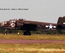 (warbird) north-american-b-25-mitchell-151632-nl9494z-deelen-17-6-1978-j-a-engels