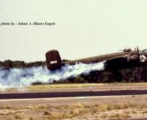 (warbird) north-american-b-25-mitchell-nl9494z-151632-deelen-17-6-1978-j-a-engels