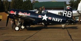 (warbird) vought-corsair I-37-rb-oe-eas-kleine-brogel-18-9-2009-j-a-engels