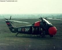 Sikorsky S-58 , BAF at  Pampa Range (FK)
