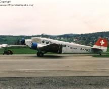Junkers JU-52 , Dübendorf 1995 (FK)
