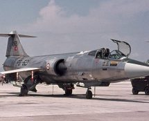 Starfighter 12621/FG-621 of 191 sq. TurkishAF (FK)