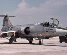 Starfighter 12621/FG-621 of 191 sq. TurkishAF (FK)