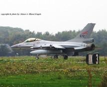F-16A Noorse LM 672 Volkel 7-10-2010 J.A.Engels