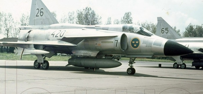 Base Visit Leeuwarden (NL), May 22nd, 1973 (Swedish Saab Viggens)