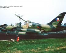Aero L-39 Albatros 0005 Tsjech.LM Eindhoven 3-7-1993 J.A.Engels