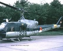 Agusta-Bell UH-1 MLD 228 Ypenburg 28-5-1970 dia-coll.J.A.Engels
