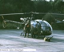 Alouette II , FAF (HE)