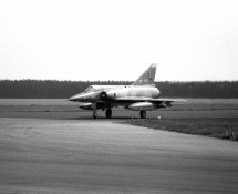 BA47 returns from a mission to the Vliehors shooting range (FK)