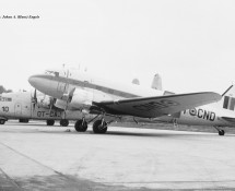 Douglas C-47 Dakota K8 (OT-CND) Brussel-Melsbroek 28-7-1972 J.A.Engels