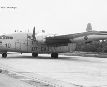 Fairchild C-119 Flying Boxcar CP10 (OT-CAJ) Brussel-Melsbroek 28-7-1972 J.A.Engels
