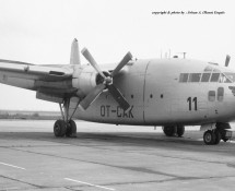 Fairchild C-119 Flying Boxcar CP11 (OT-CAK) Brussel-Melsbroek 28-7-1972 J.A.Engels