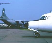 Fokker F-27 C-11 K.Lu. (+ Antonov AN-12 2105 Tsjech.LM) Eindhoven 3-7-1993 J.A.Engels