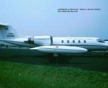 Gates C-21 Learjet 40084 USAFE  Eindhoven 3-7-1993 J.A.Engels